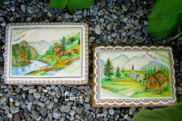 malované medovniky