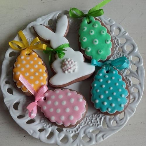 zajko a bodkované vajíčka :)
