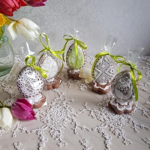 veľkonočné kraslice - darčekové balenie