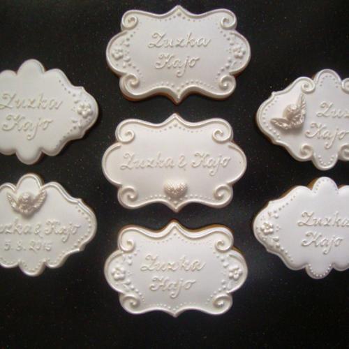 svadobné plaketky