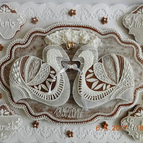 Svadobné medovníky