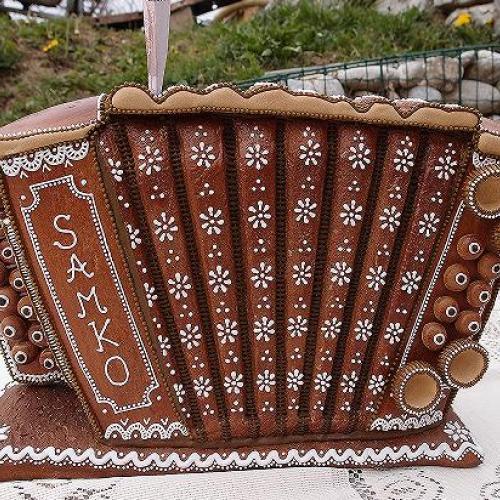 heligónka - pokladnička