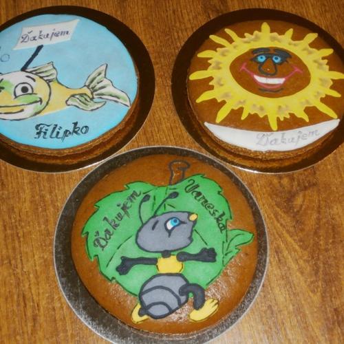 mravček,rybka,slniečko