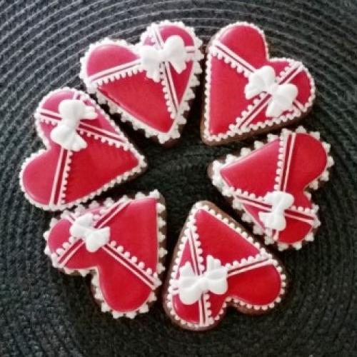 valentínske perníčky