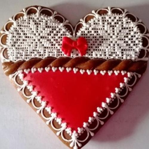 valentínsky medovník